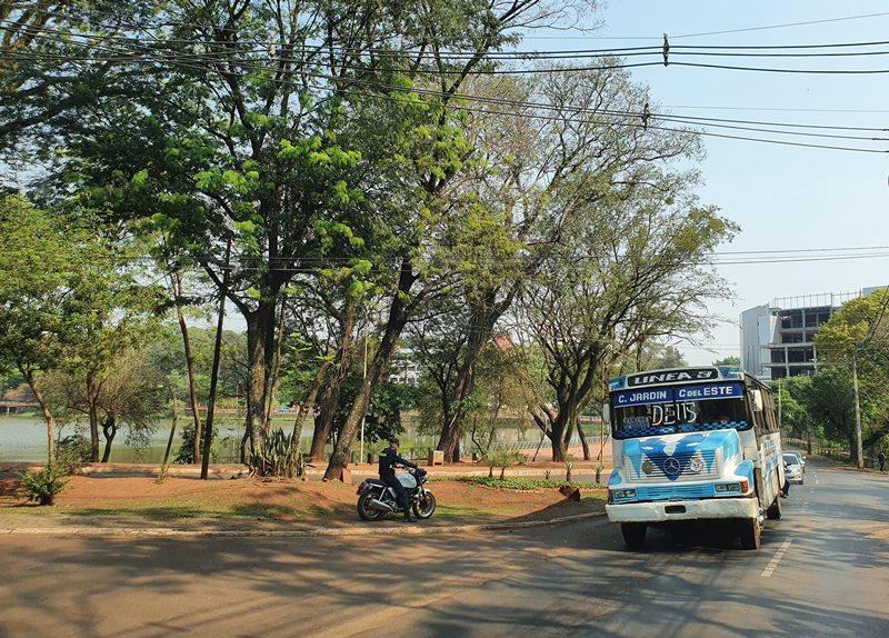 Ciudad del Este como chegar: ônibus, van, mototaxi