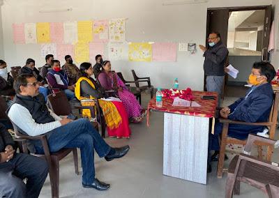 सैफई में शिक्षक संकुलों की समीक्षा बैठक सम्पन्न