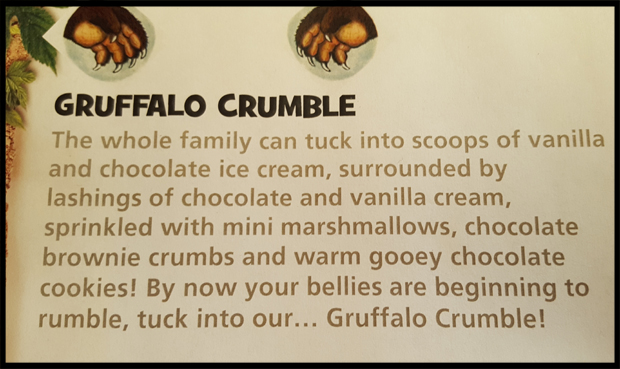 What's inside the Gruffalo Crumble at Chessington Safari Hotel