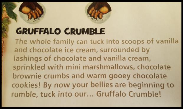 What's inside the Gruffalo Crumble at Chessington Safari Hotel