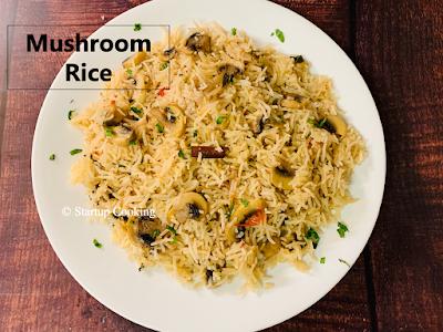 mushroom rice
