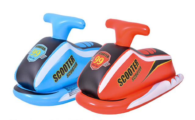 Inflatable Scooter Rider Dinghy