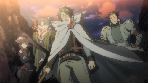 "Log Horizon anime ""Shiroe's Party"""