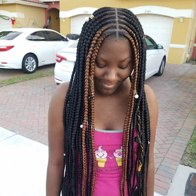Thinking about trying a brand new hair color ✘ 33 Fulani Tribal Braids Ponytail Hairstyles for Black Hair In Style 2020
