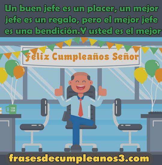 67 Felicitaciones De Cumpleaños Para El Jefe