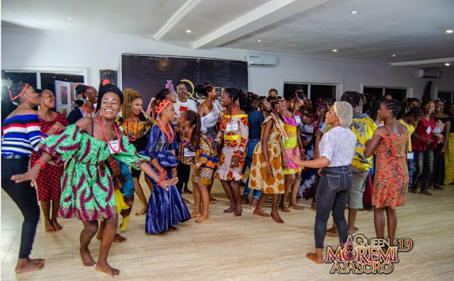 Photos From Queen Moremi Ajasoro Leadership Pageant