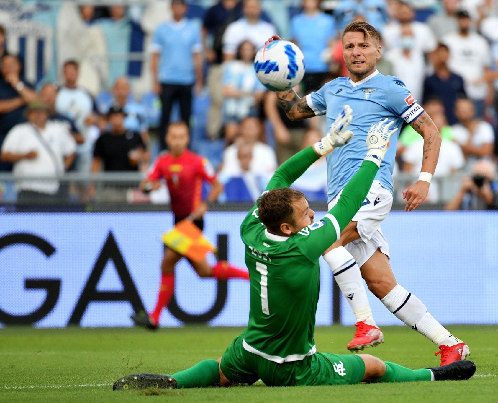 ملخص وأهداف مباراة لاتسيو ضد سبيزيا في الدوري الإيطالي