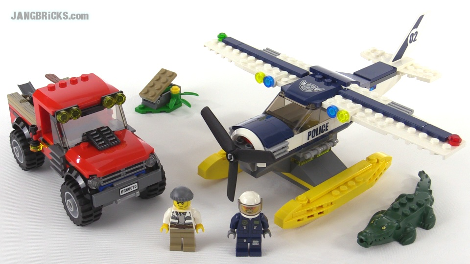 LEGO City Water Plane Chase review! set 60070