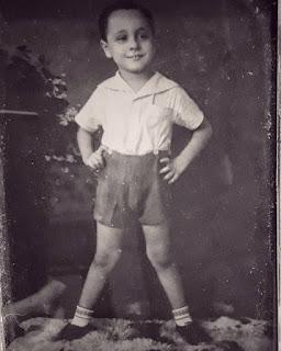Retrato de David Ledesma cuando niño