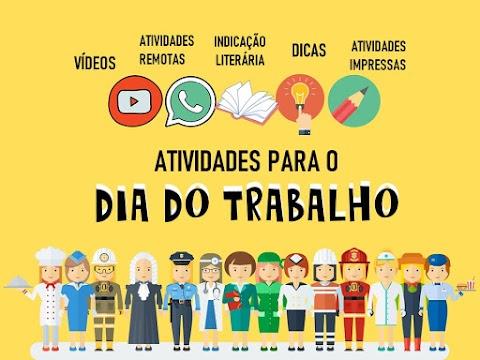 DIA DO TRABALHO (PROFISSÕES)