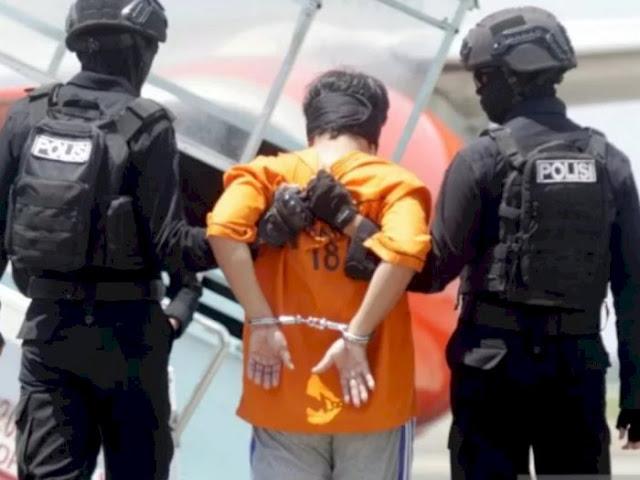 Tersangka Teroris Makassar Cabut Praperadilan, Ngaku Diancam Mau Dihukum Berat