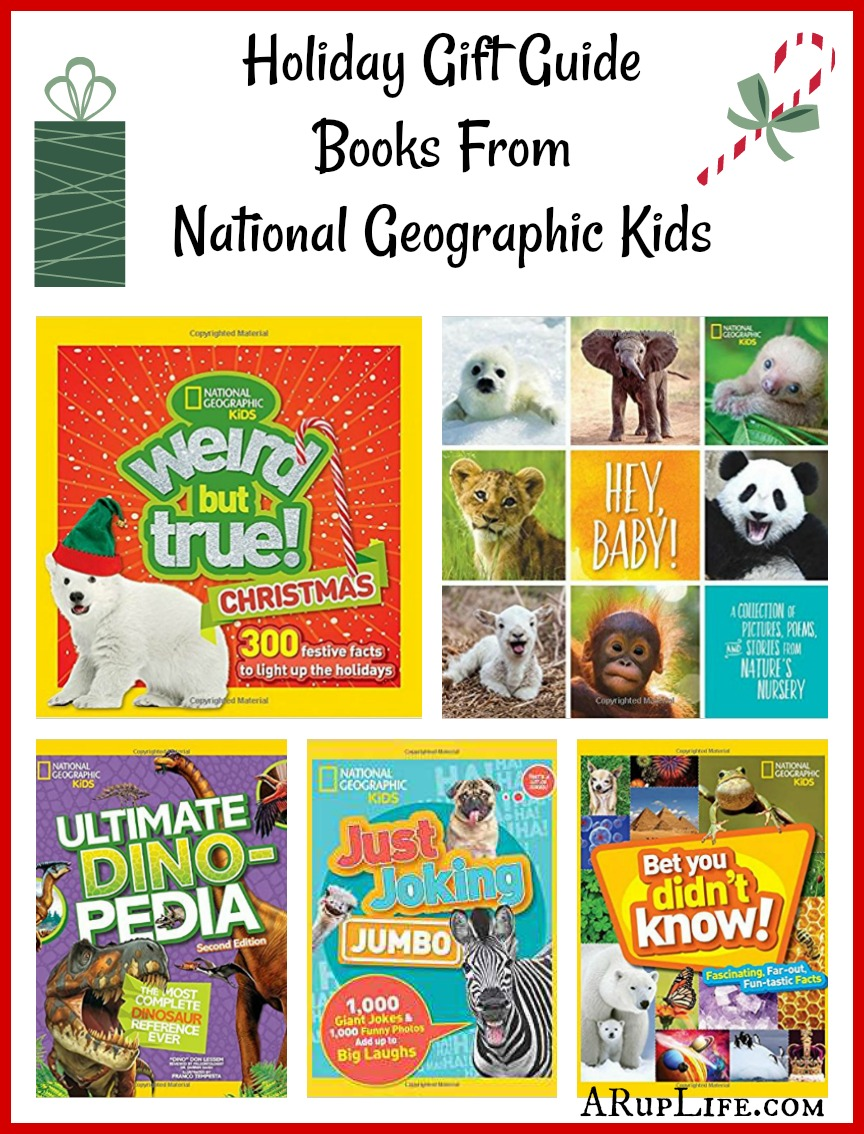 A RUP LIFE: Holiday Gift Ideas from National Geographic Kids