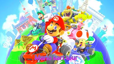 "Nintendo upload ""Mario kart tour"" 10M+ Daownlond"
