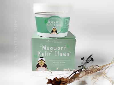 Mugwort Kefir Etawa Lovely Kefir Nature Kolaborasi dengan artis Hana Saraswati