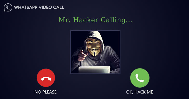 Hack-whatsapp-chat-video-call