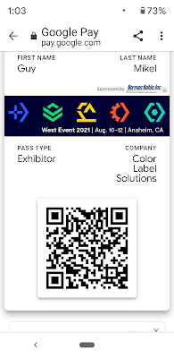 Google Pay Tradeshow Certificate