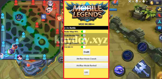 APK Radar Map Mobile Legends Terbaru Patch Masha Work 100%