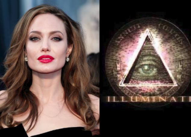 Filtran video íntimo de Angelina Jolie donde se aprecia rituales Illuminati