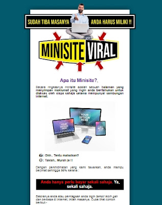 contoh Sales Page