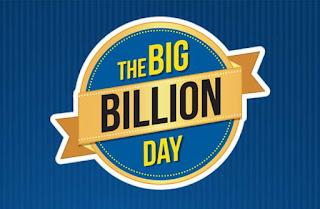 Flipkart Big Billion Day Sale 2-6th Oct 2016 : 99% Off