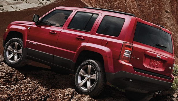 Jeep Patriot 2017 Canada