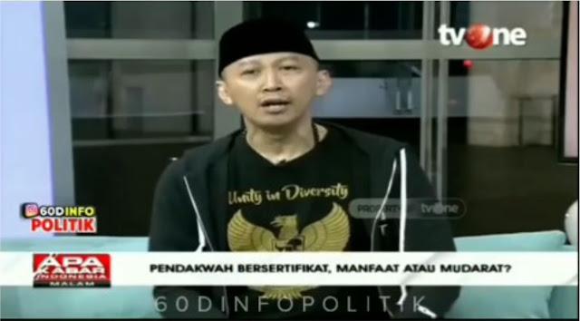 Debat Panas Abu Janda, Sebut Ustadz Alfian Tanjung Residivis Keluar Masuk Penjara