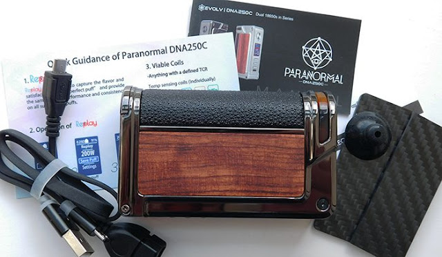 Lost Vape Paranormal DNA250C Box Mod package
