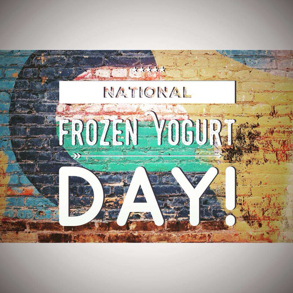 National Frozen Yogurt Day Wishes For Facebook