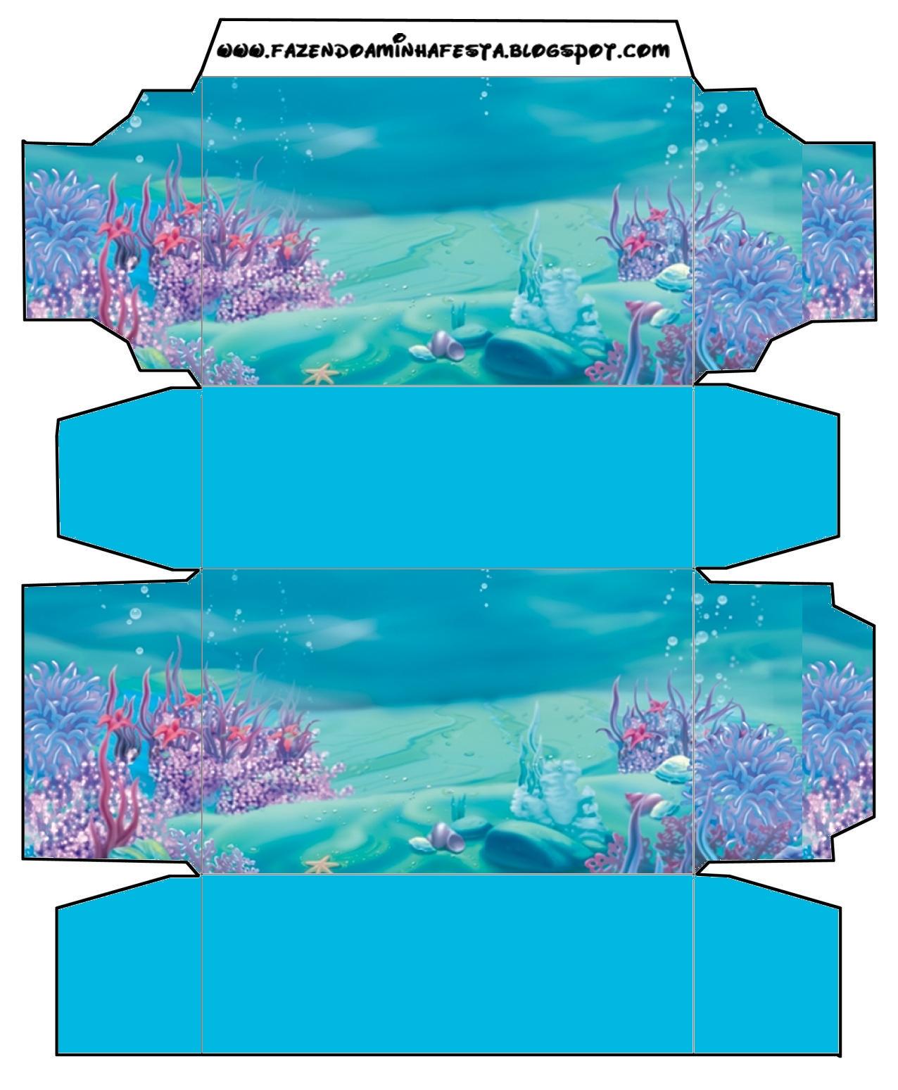 Under The Sea Free Printable Boxes