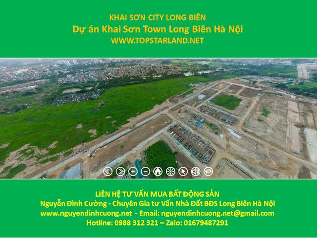 Khai Sơn City Long Biên