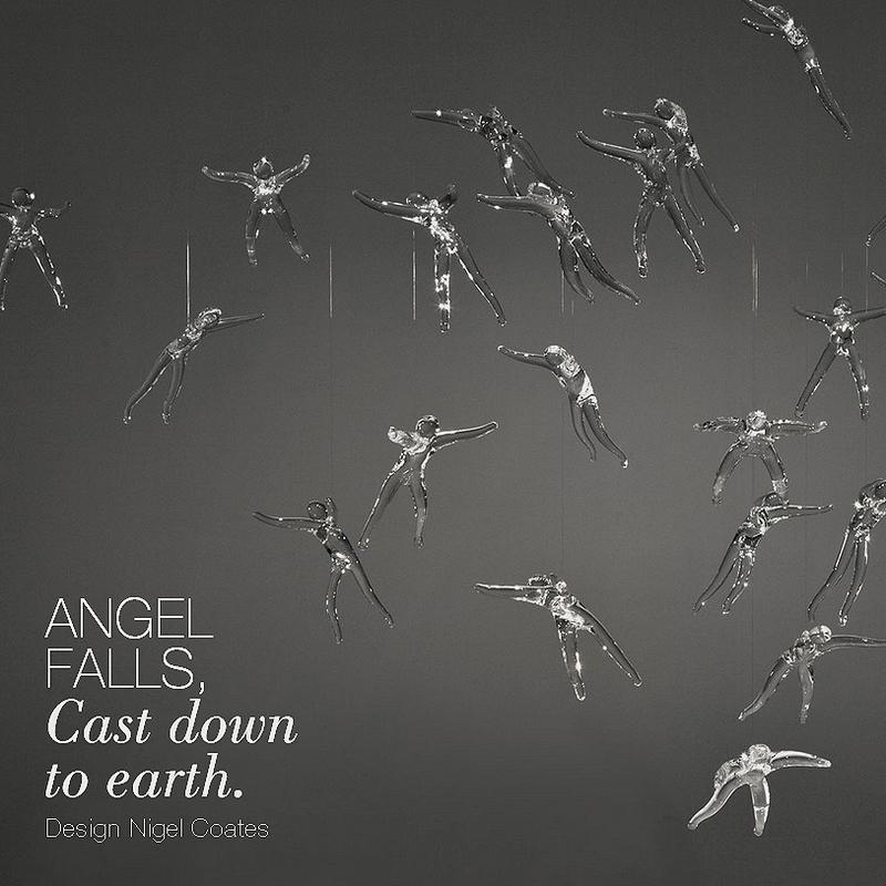 Angel Falls Chandelier