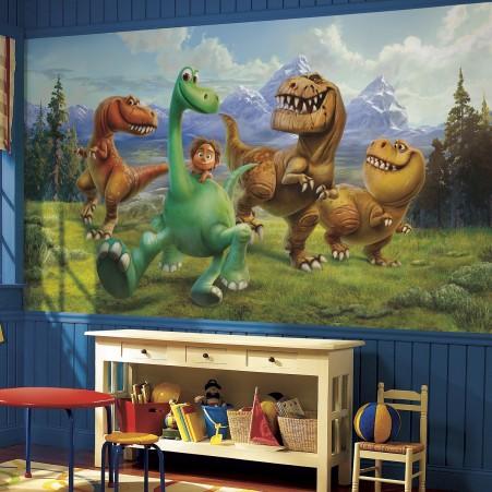 fototapet barn dinosaurier tapet barnrum pixar barntapet killrum