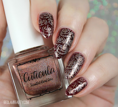 Cuticula SPrinkle of the Month October 2019 | Spiced Gingerbread Stamping