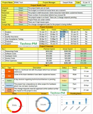 weekly status report template, weekly status report excel