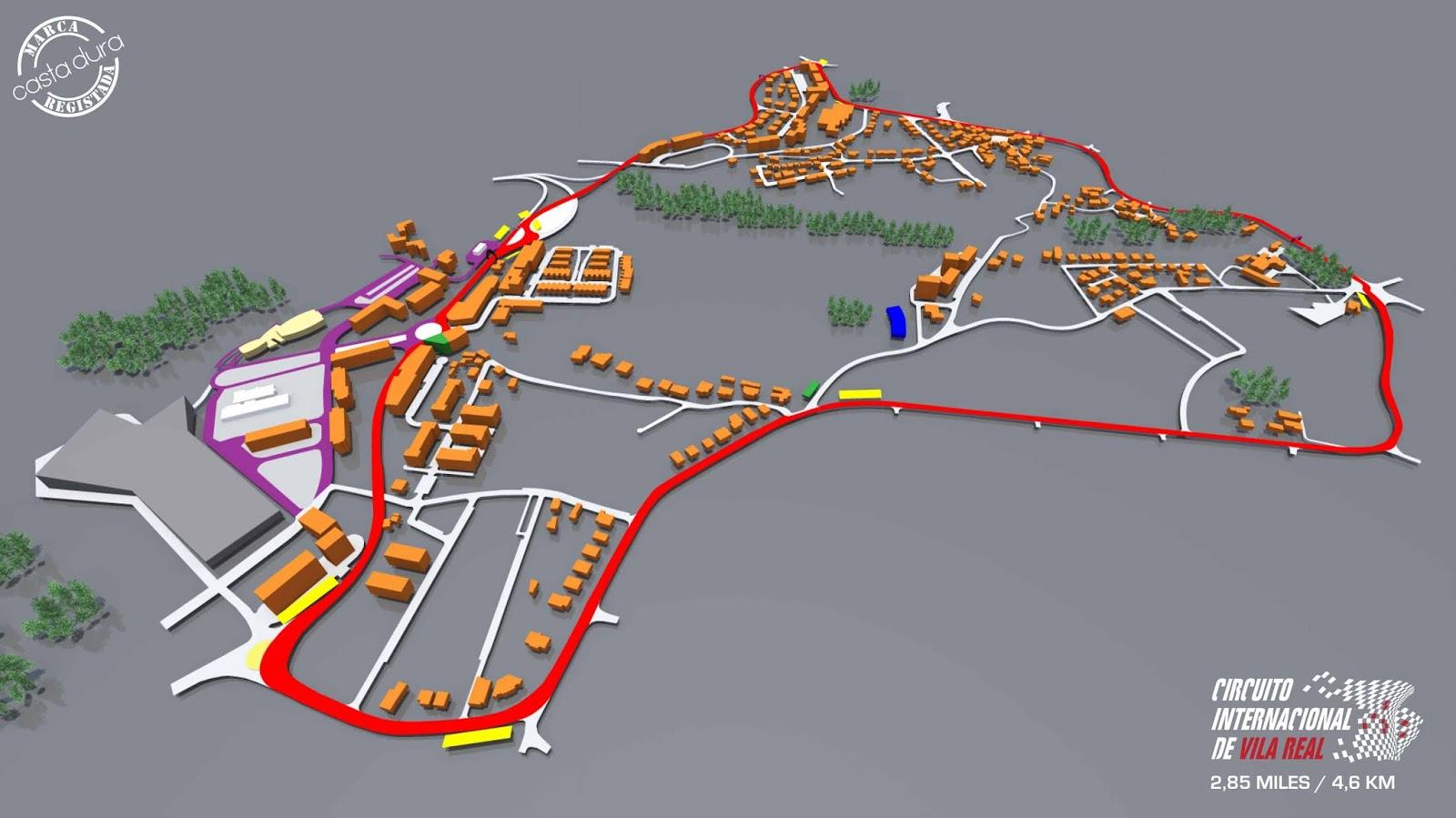 Circuito Vila Real : Caixa de emoções circuito internacional de vila real wtcc