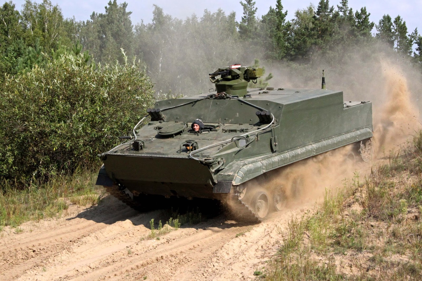 DEFENSE STUDIES: Indonesia Interest in BT-3F Amphibious Tracked APC