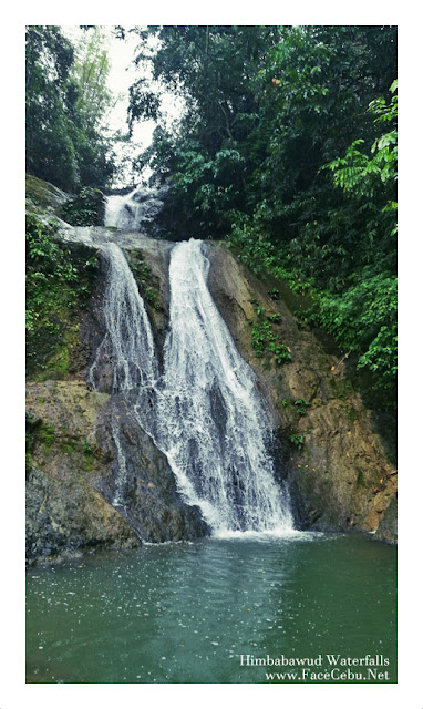 Himbabawud Waterfalls in Barangay Bonbon, Cebu City