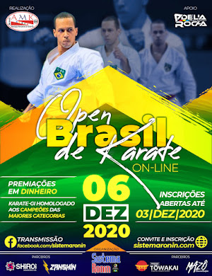 Open Brasil de Karate On-Line
