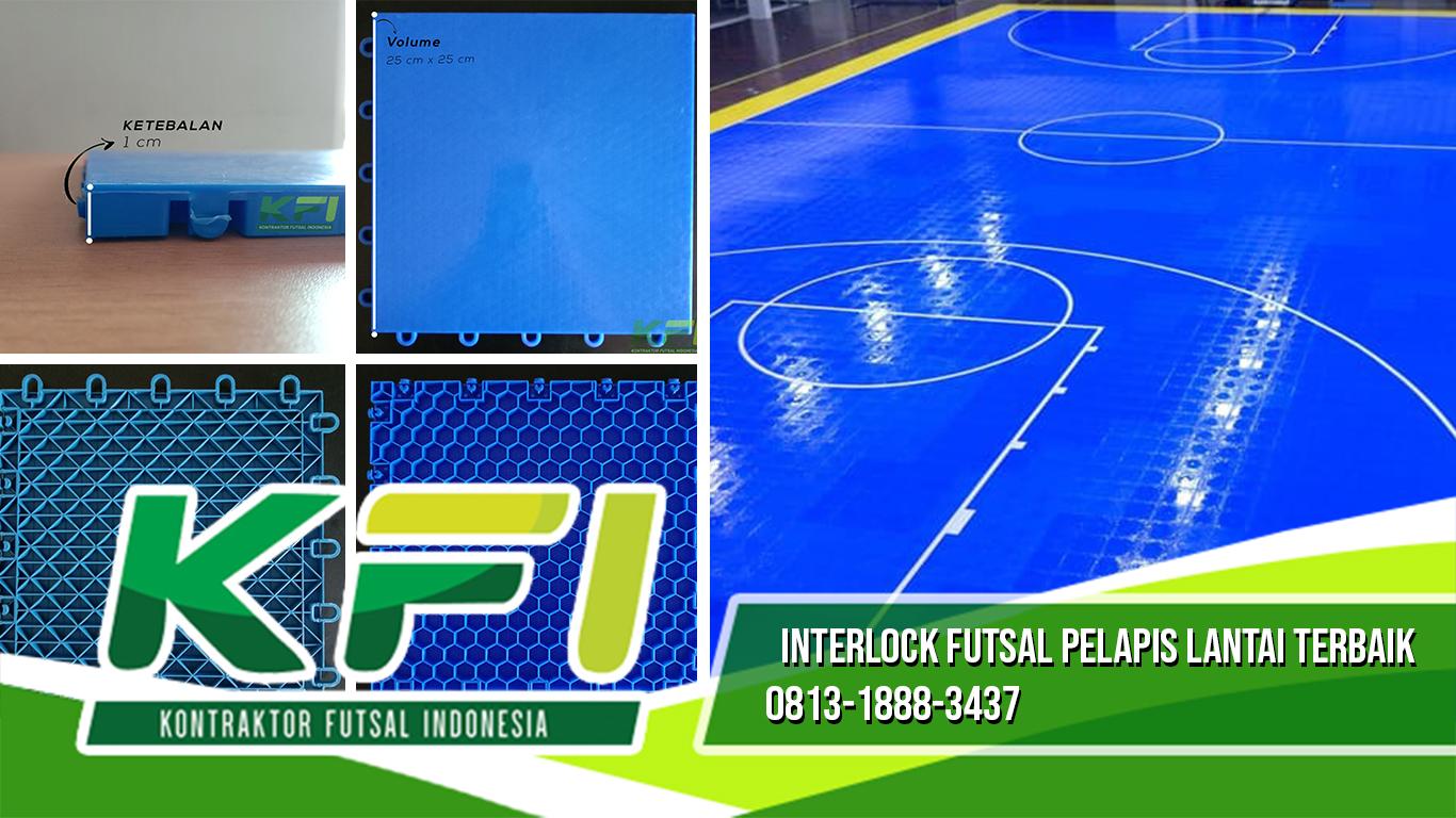 Interlock Futsal Pelapis Lantai Terbaik