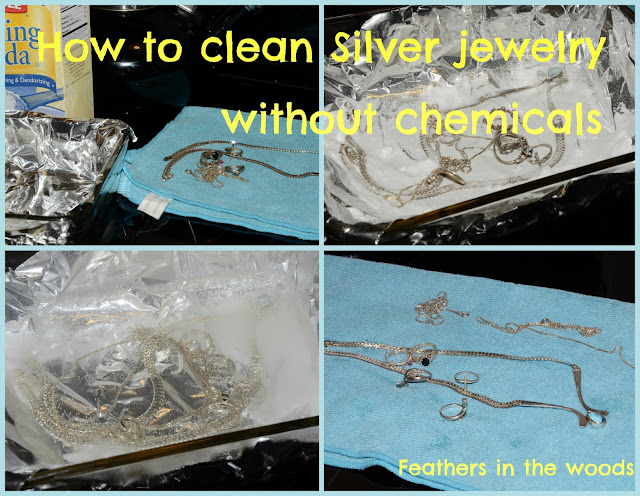 silver jewelry cleaning, chemical free