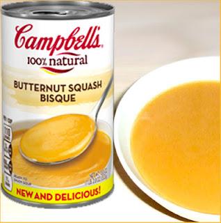 Campbells Butternut Squash Bisque