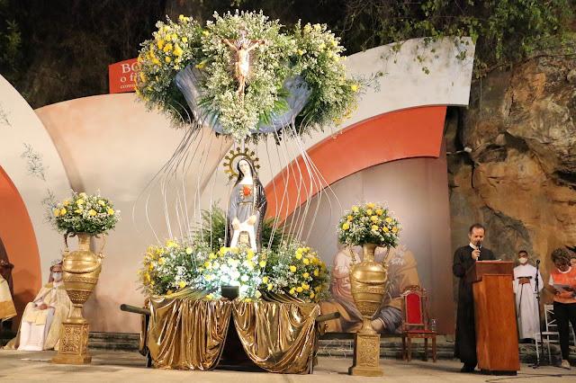 Dia de muita emoção no encerramento das celebrações da Romaria de Nossa Senhora da Soledade em Bom Jesus da Lapa