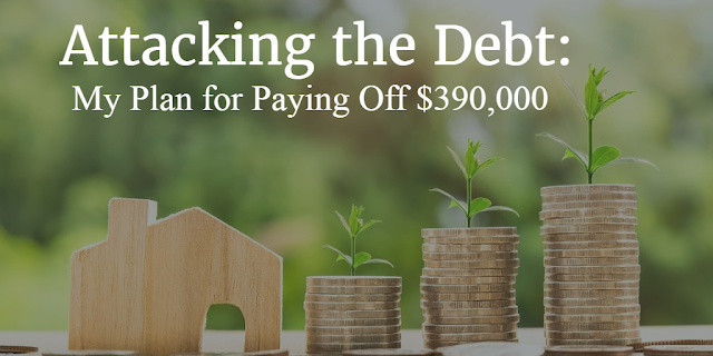 Attacking the Debt: My Plan for Paying Off $390,000
