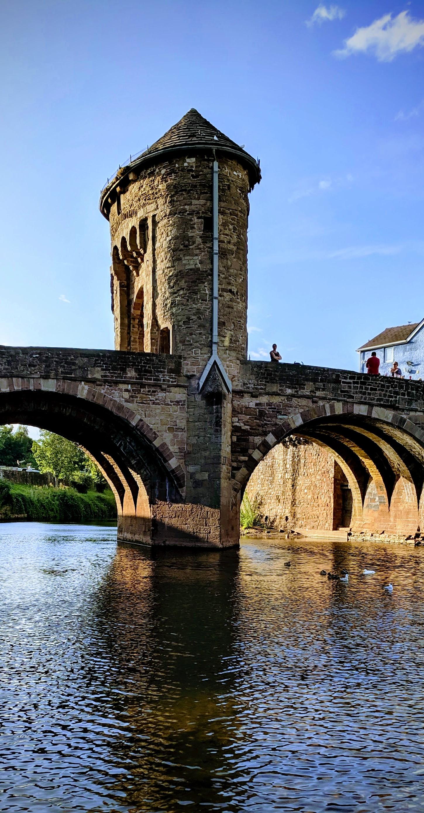 Monnow Bridge, Monmouth (Wales, UK)