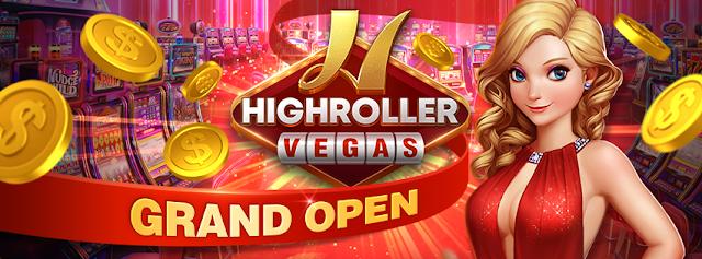 HighRoller Vegas Free Coins - Daily Bonus