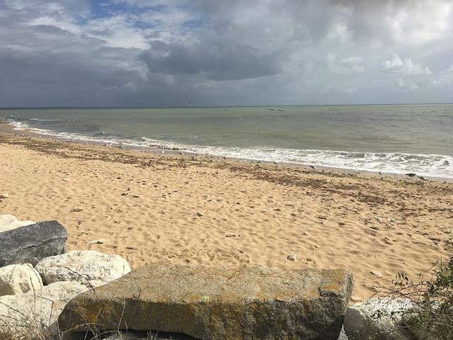 Ruta Oeste Francia Isla de Ré playa