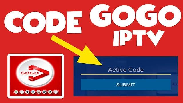 كود تفعيل Gogo IPTV لمدة طويلة - GOGO IPTV Activation Codes