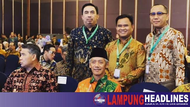Bupati Pringsewu Hadiri Konferensi Tingkat Nasional yang Dibuka Langsung Oleh Wapres