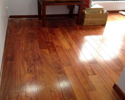 Chi phí lắp đặt sàn gỗ giáng hương cho không gian sang trọng
