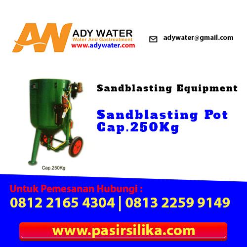 Langkah Kerja Mesin Sandblasting,